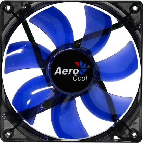 Cooler Fan 12 x 12 Blue Led Lightning Aerocool