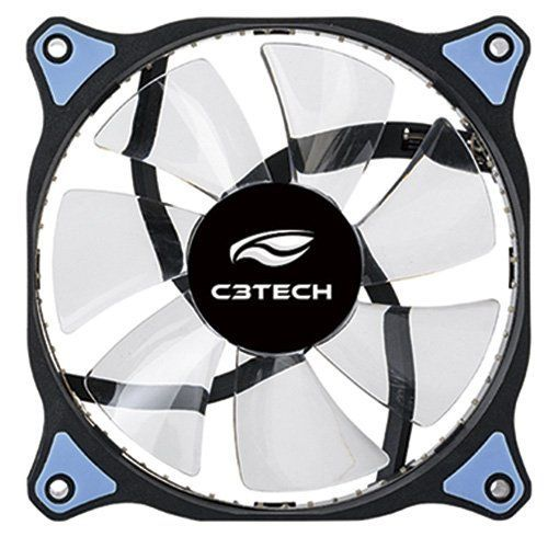 Cooler Fan Storm 12cm Led Azul F7-L130BL C3tech