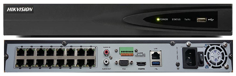 NVR IP 16 Canais 5MP DS-7616NI-E2 Hikvision