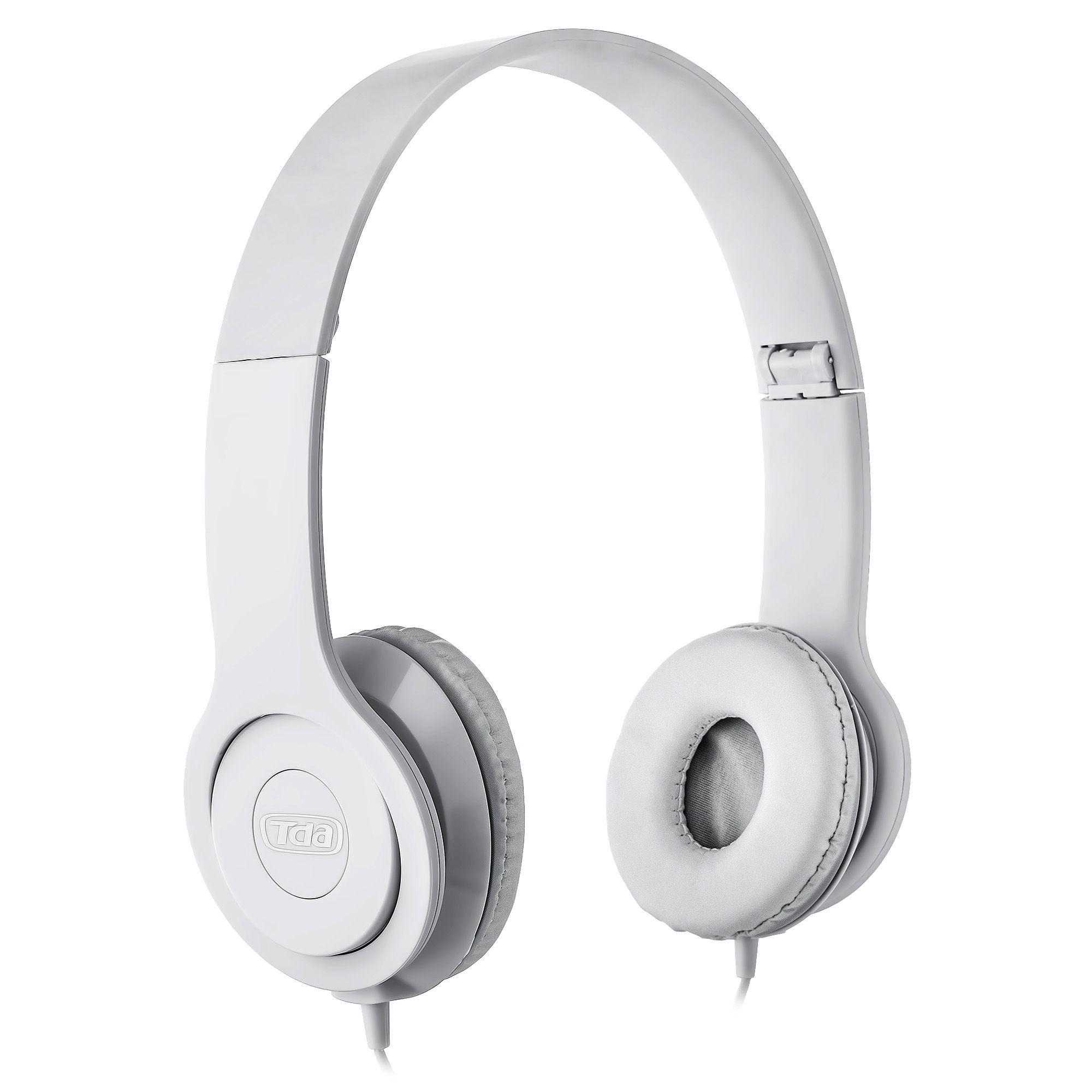 Headphone Stereo Branco P2 TD-7200