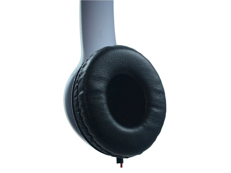 Fone de Ouvido Sound Bass Ergonomico Dobravel Preto Hardline St-401