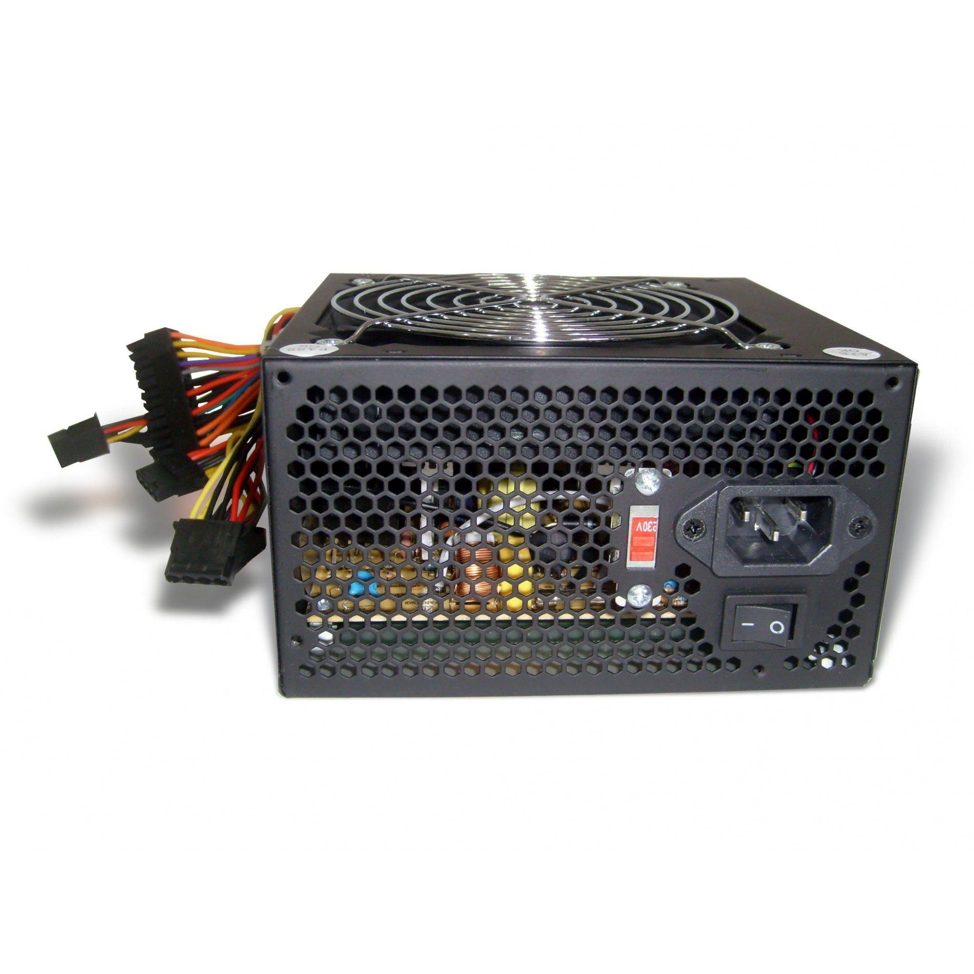 Fonte ATX 500W Real PFC Ativo 24 Pinos Bivolt TDA ATX500WP4