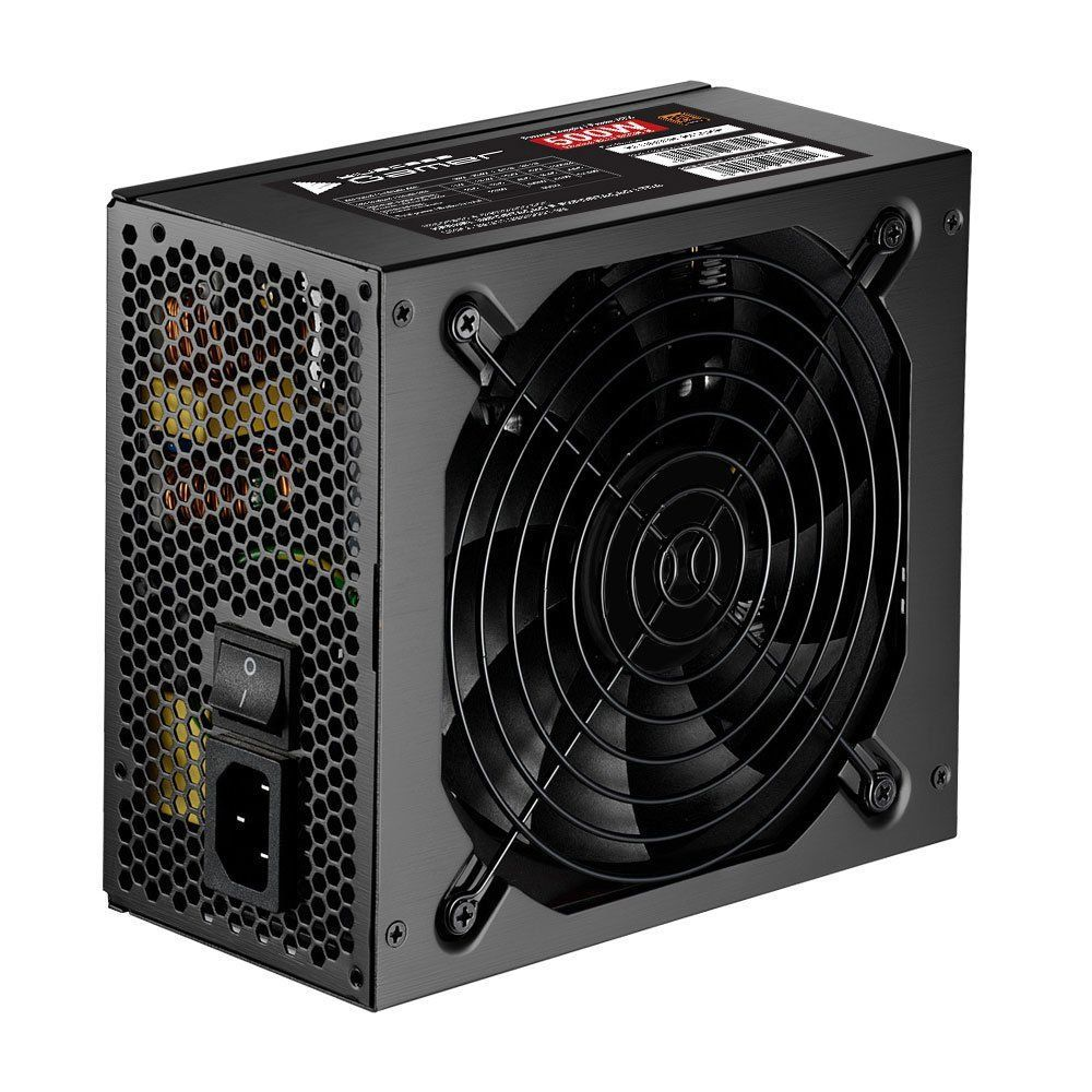 Fonte Gamer ATX 80 Plus Bronze 500W Real BLU500R-B Bluecase