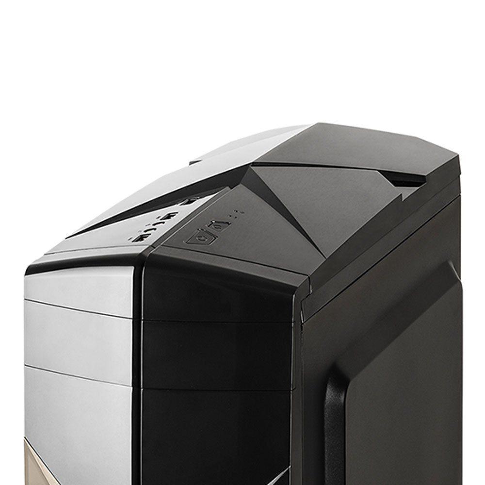 Gabinete Gamer Lateral Acrílico C3tech MTG300BK