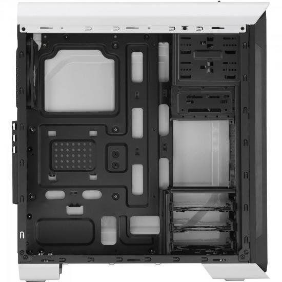 Gabinete Gamer Branco Mid Tower Aerocool Aero-500 Window