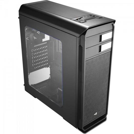 Gabinete Gamer Mid Tower Aero-500 Window Aerocool Preto