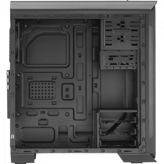 Gabinete Gamer Mid Tower Aero-500 Window Aerocool Preto