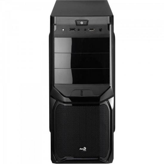 Gabinete Gamer Mid Tower Aerocool V3x Window Preto