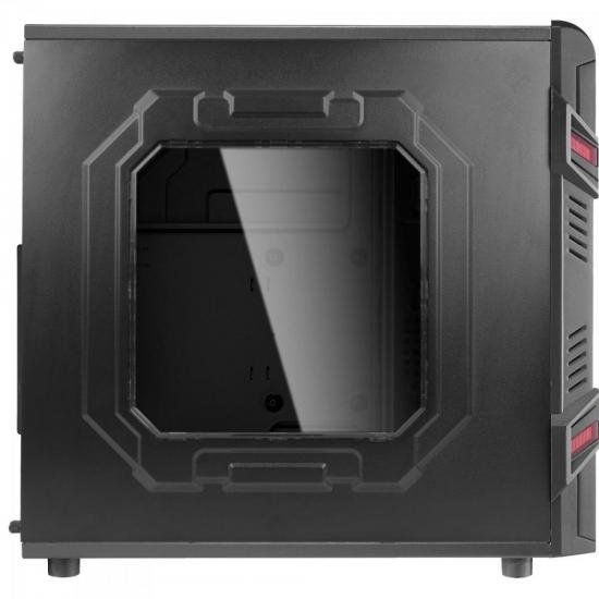 Gabinete Gamer Mid Preto Tower GT Window Aerocool