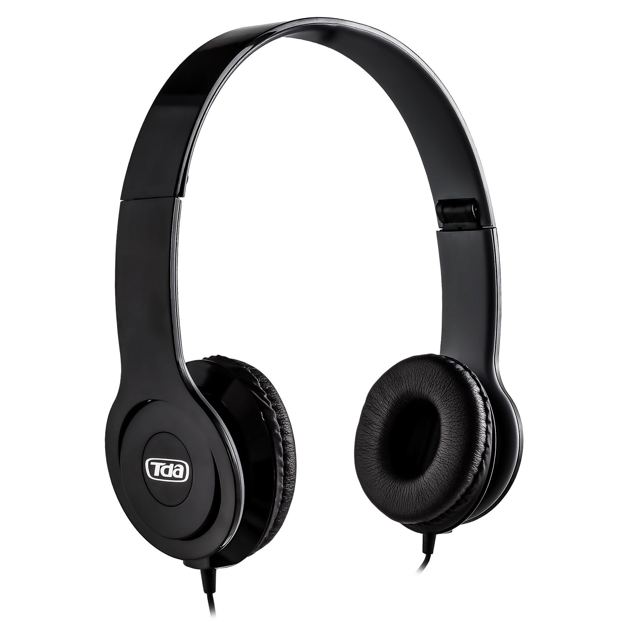 Headphone Stereo Black P2 TD-7200