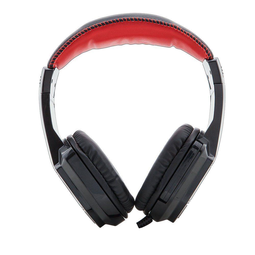 Headphone com Microfone Gamer Crow PH G100BK C3tech