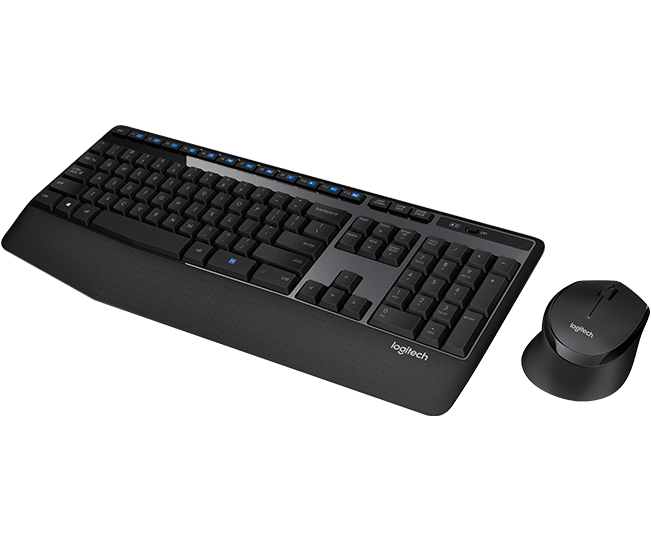 Logitech Mk345 Kit Mouse e Teclado Óptico sem fio