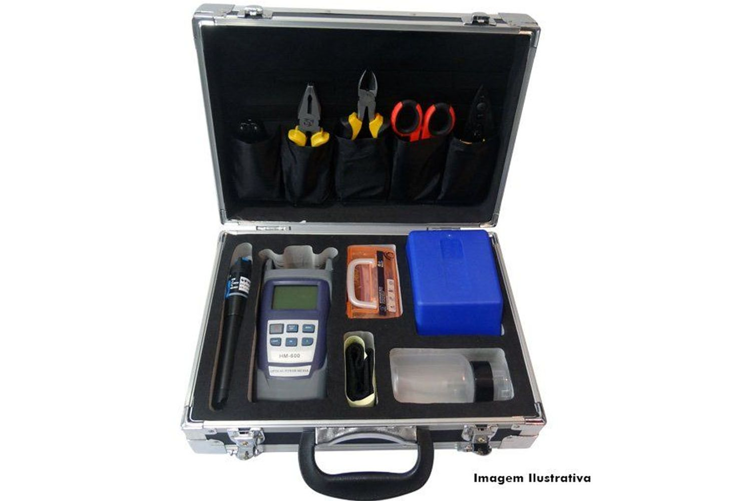 Kit Manutenção de Fibra Óptica FTTH E4L-TK-18PMVFL E4Link