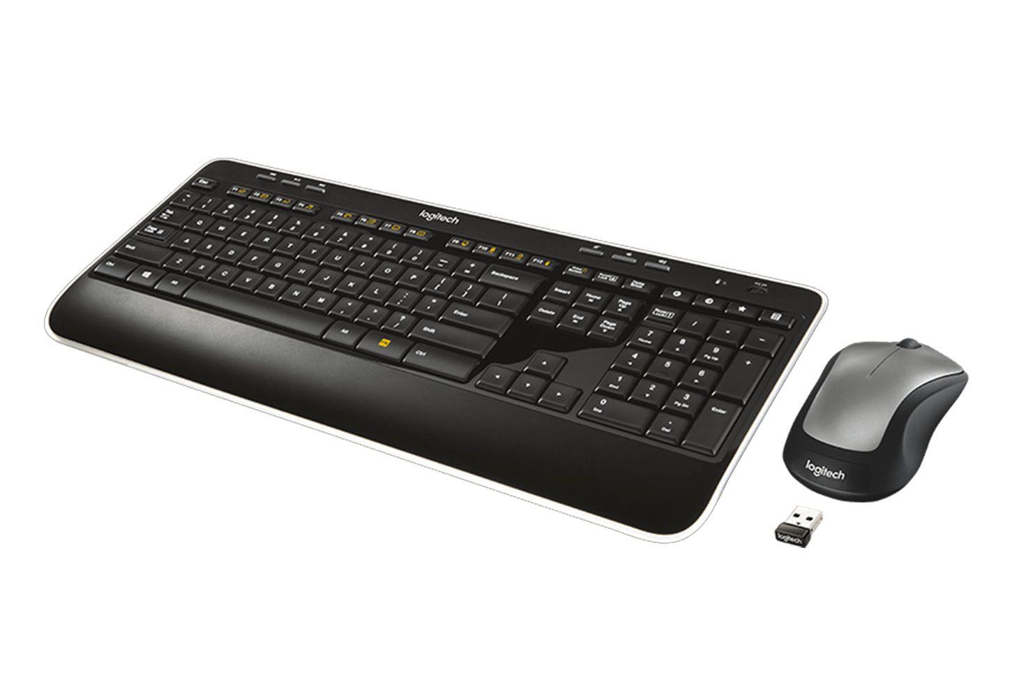 Kit Mouse e Teclado Óptico Sem Fio Logitech Mk520