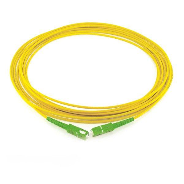 kit Patch Cord Óptico Sc-apc/Sc-apc 50 unidades