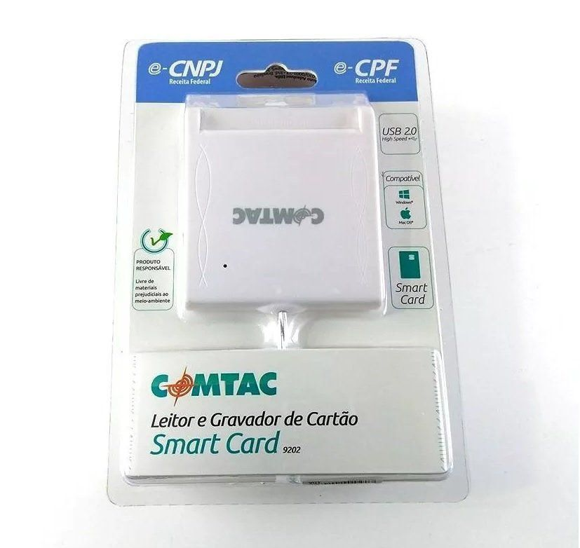 Leitor e Gravador Smart Card USB Certificado Digital
