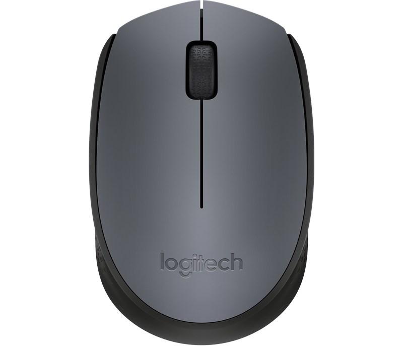 Logitech M170 Mouse Óptico Wireless - Cinza