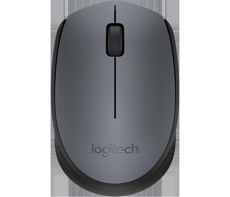 Logitech M170 Mouse Óptico Wireless - Cinza