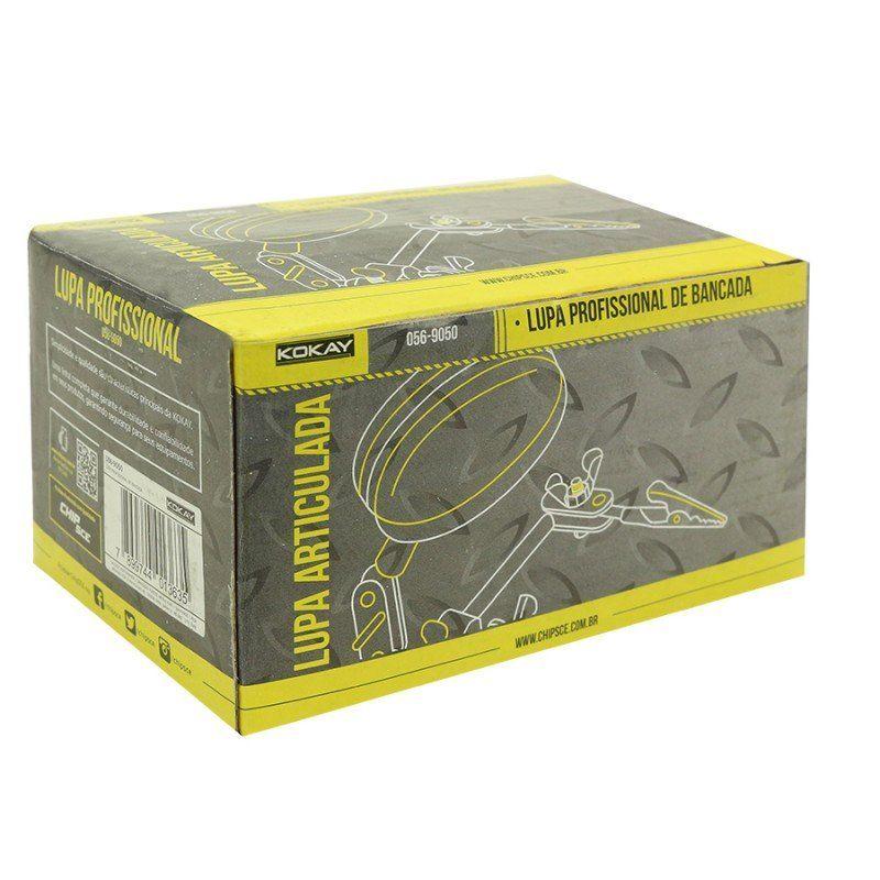 Lupa de Bancada Articulada com Garras Kokay 056-9050