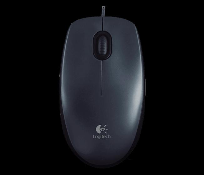Logitech M100 Mouse Óptico com Fio USB Preto