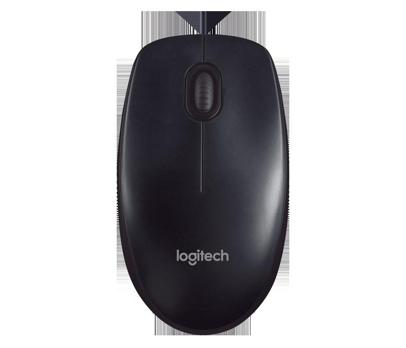 Logitech  M90 Mouse Ótico com fio USB Preto