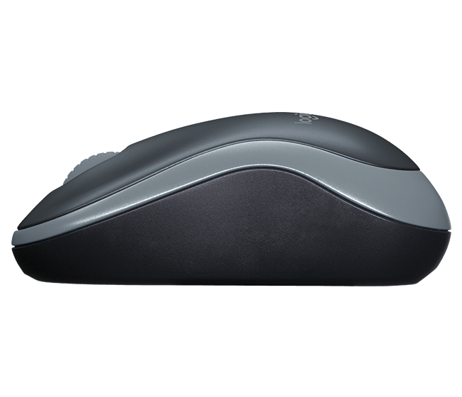 Logitech M185 Mini Mouse Óptico Sem Fio - Cinza