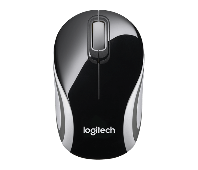 Logitech M187 Mini Mouse Wireless Preto