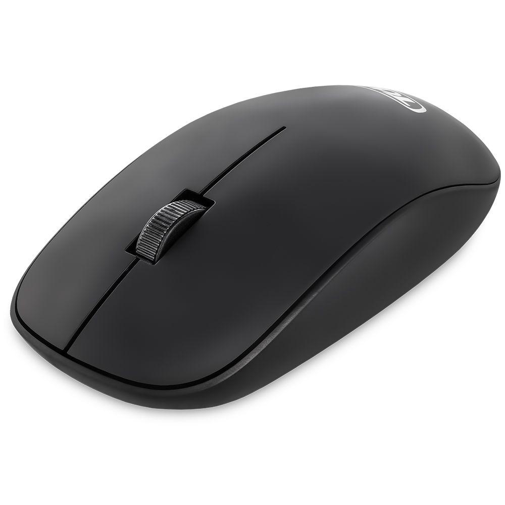 Mouse Óptico WiFi 1200dpi Preto TDA TD-W1200D
