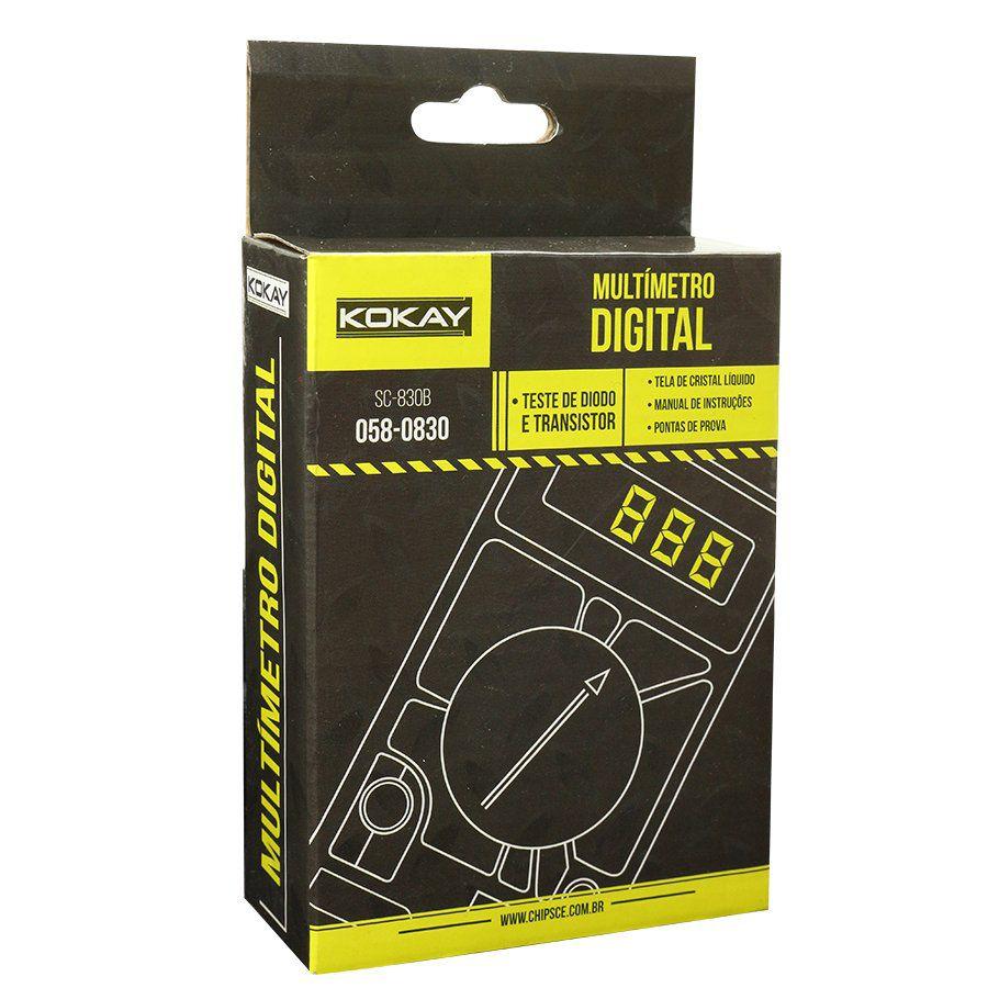 Multímetro Digital Primeira DT-830B Kokay