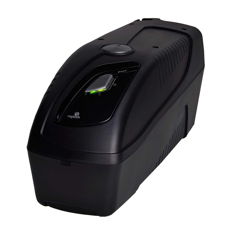 Nobreak Senoidal 1200VA entrada USB STD-TI Black Ragtech Easy Pro