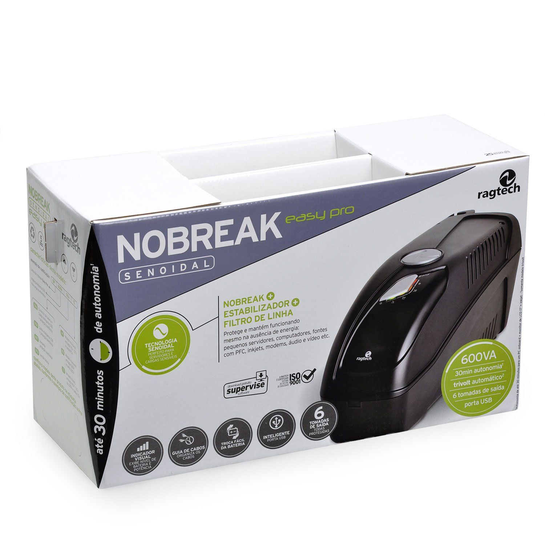Nobreak Senoidal Easy Pro 900VA Ragtech