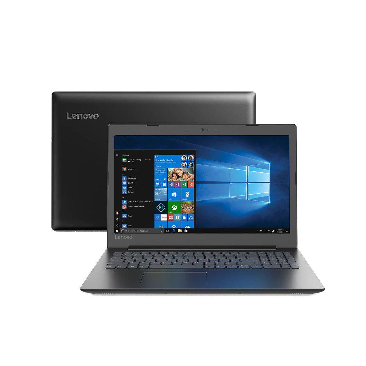 Notebook Lenovo Intel Core I3 7020U 4GB 500GB Windows 10 Home