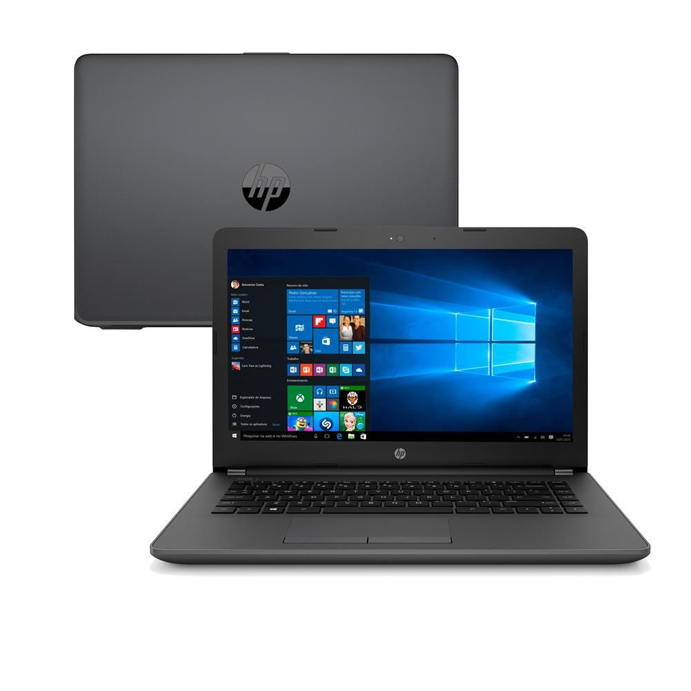Notebook HP G6 Intel CORE i3 4GB 500GB Tela 14 WINDOWS10