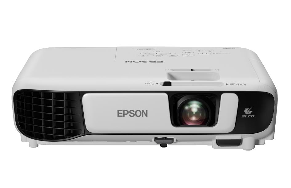 Projetor Epson  Wi-Fi Powerlite S41+ 3300 Lumens 3LCD