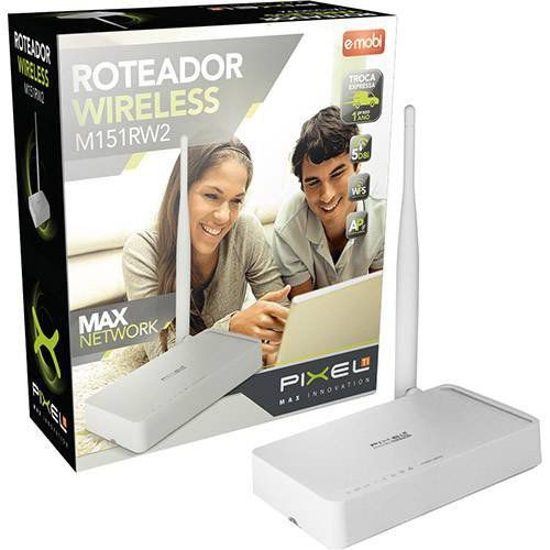 Roteador Wireless 150MBPS Pixel M151RW2