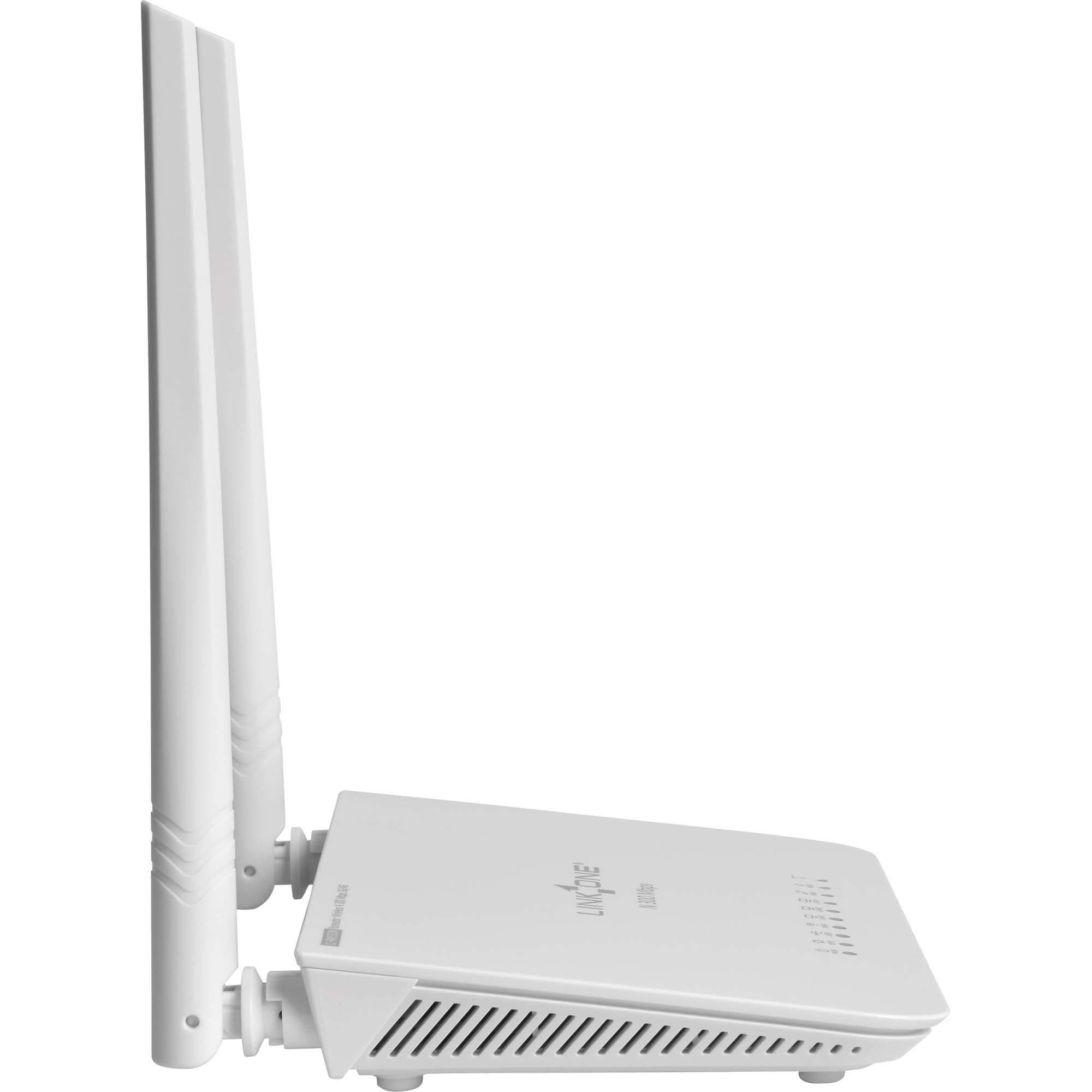 Roteador Wireless 300Mbps 2 Antenas 5dbi Link One RW332M 3G/4G