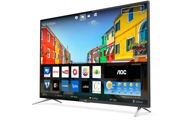 "Smart Tv Led 50"" Aoc LE50U7970S 4K UHD 60Hz"