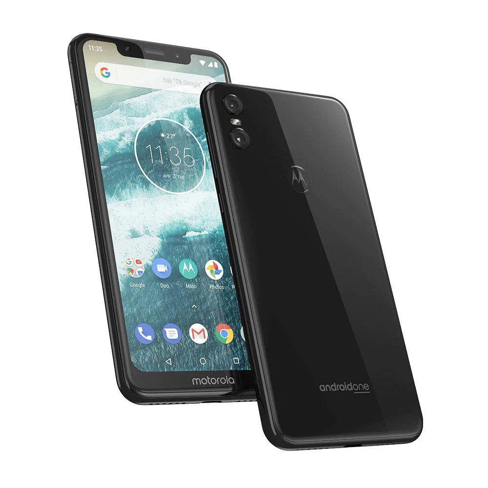 "Smartphone Motorola One Xt1941 Branco 64Gb Tela de 5,9"""