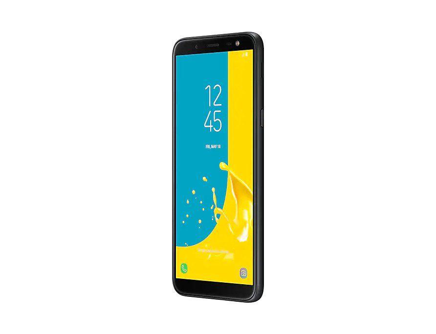"""Smartphone Samsung Galaxy J6 64GB Dual Chip Tela 5.6"""" 4G Preto"""