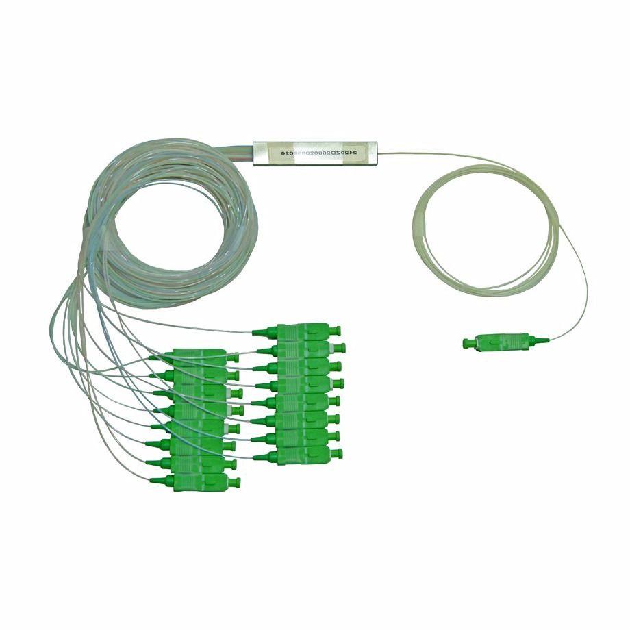 Splitter 1/16 Fibra Óptica 1x16 FTTH Balanceado SC/APC