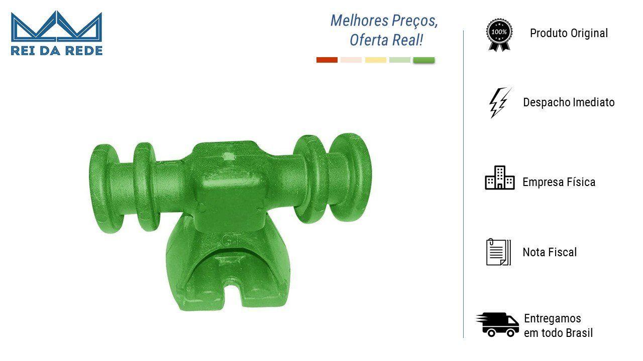 Suporte Isolador P/ BAP 4 Vias Verde Limao 2979 TW