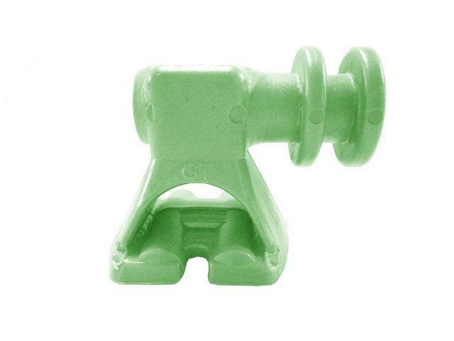 Suporte Isolador para Bap 2 Vias Verde Limão 2975 TW