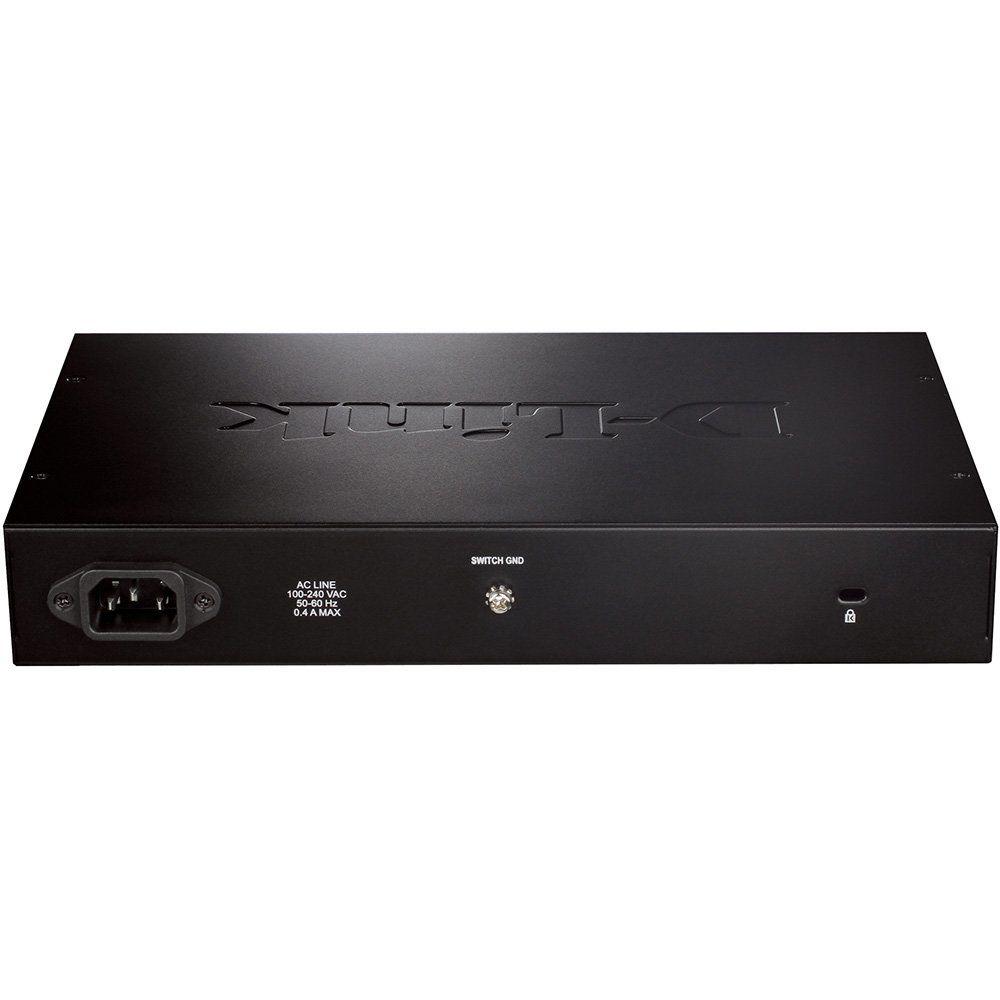 Switch 16 Portas Gigabit DGS-1016d D-Link