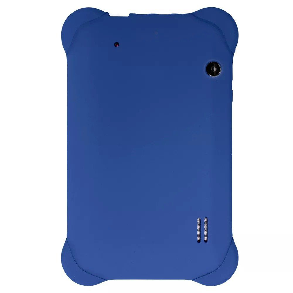 "Tablet Kid Pad 8GB Tela 7"" Case Borracha Azul Multilaser NB194"