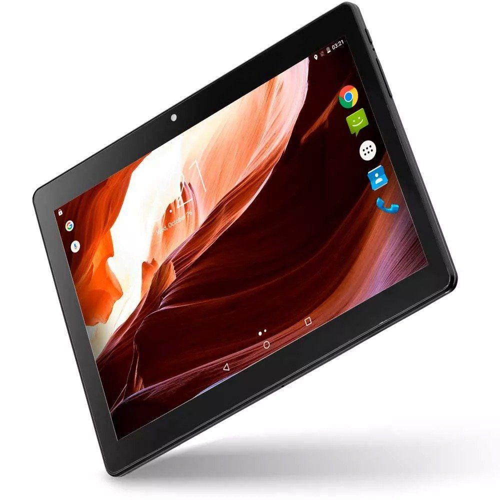 "Tablet M10a 3g Quad Core 10"" 2gb Ram 16gb Multilaser Nb253"