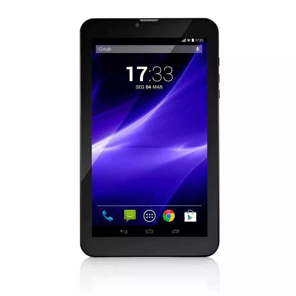 "Tablet M9 3G Quad Core 8GB 9"" Preto NB247 Multilaser"