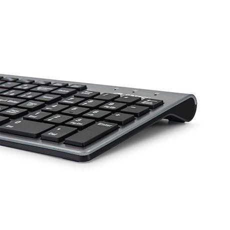 Teclado e Mouse Sem Fio K-W510SBK Preto C3Tech
