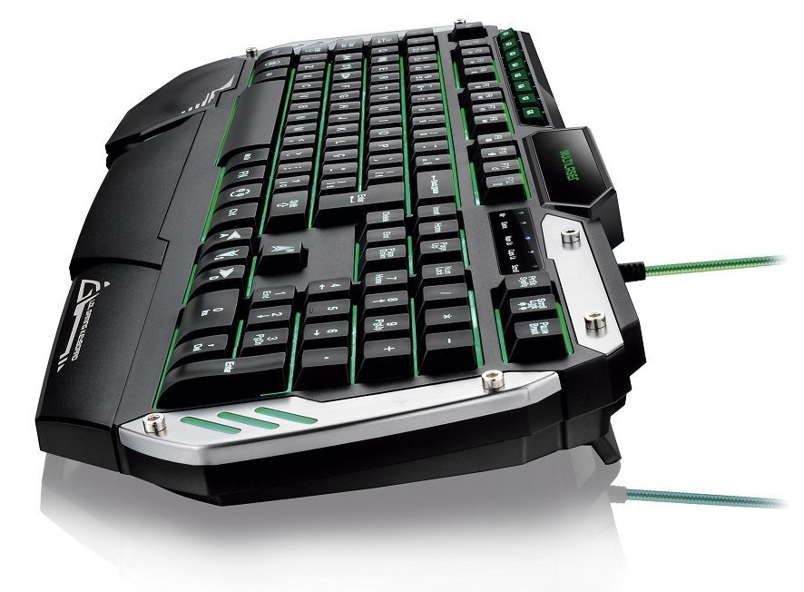 Teclado Gamer Semi Mecânico TC189 Multilaser com Led