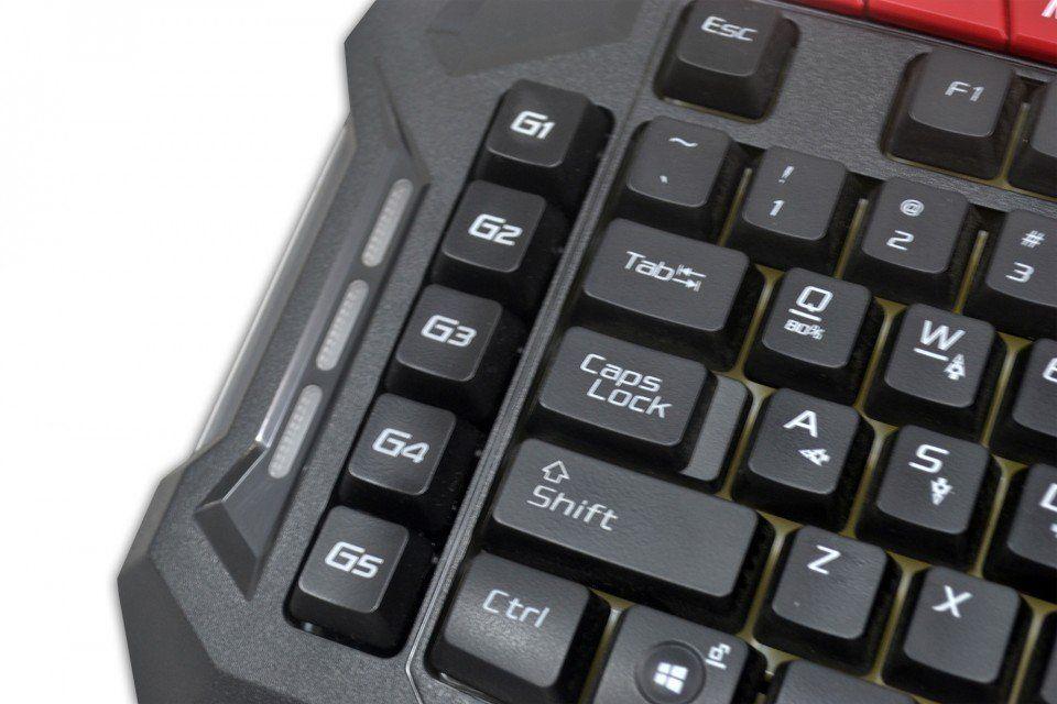 Teclado Gamer Shadow Hunter Macro Back Light Hl-Shk Hardline