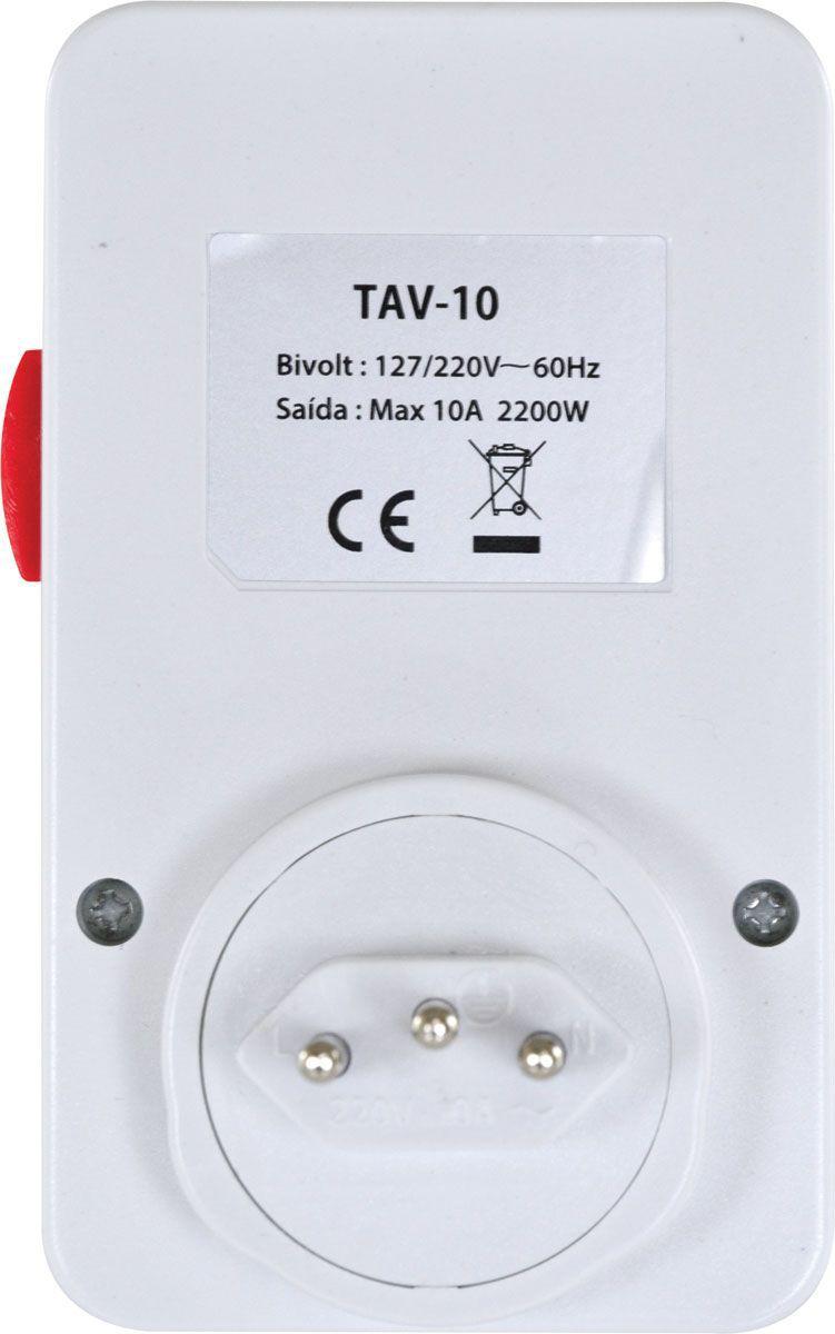 Timer Temporizador Analógico Bivolt TAV-10 VINIK